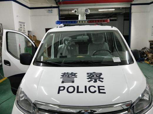 郑州市金水区公安局执法巡逻车安装效果