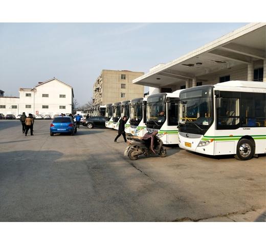 修武公交公司安装现场
